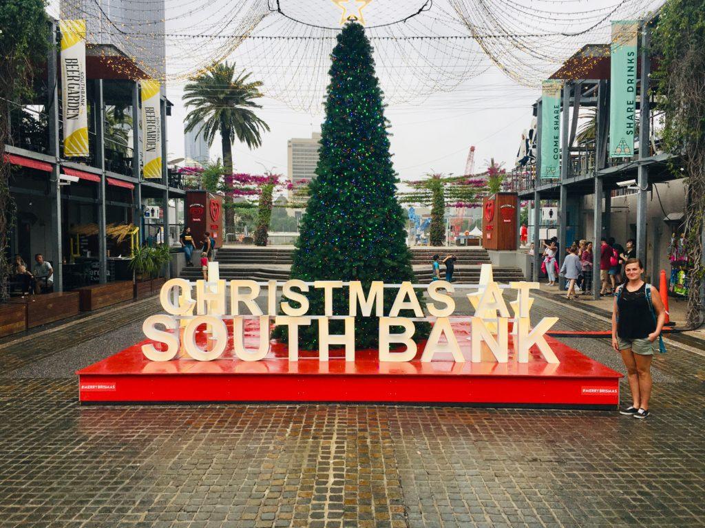 Brisbane zur Weihnachtszeit