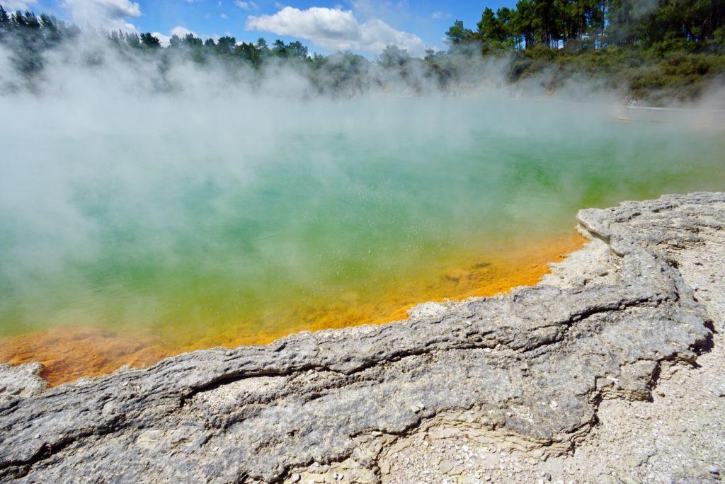 Wai-O-Tapu Geothermalgebiet in Neuseeland