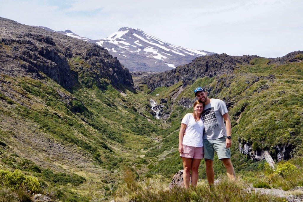 Mount Ruapehu auf Neuseelands Nordinsel