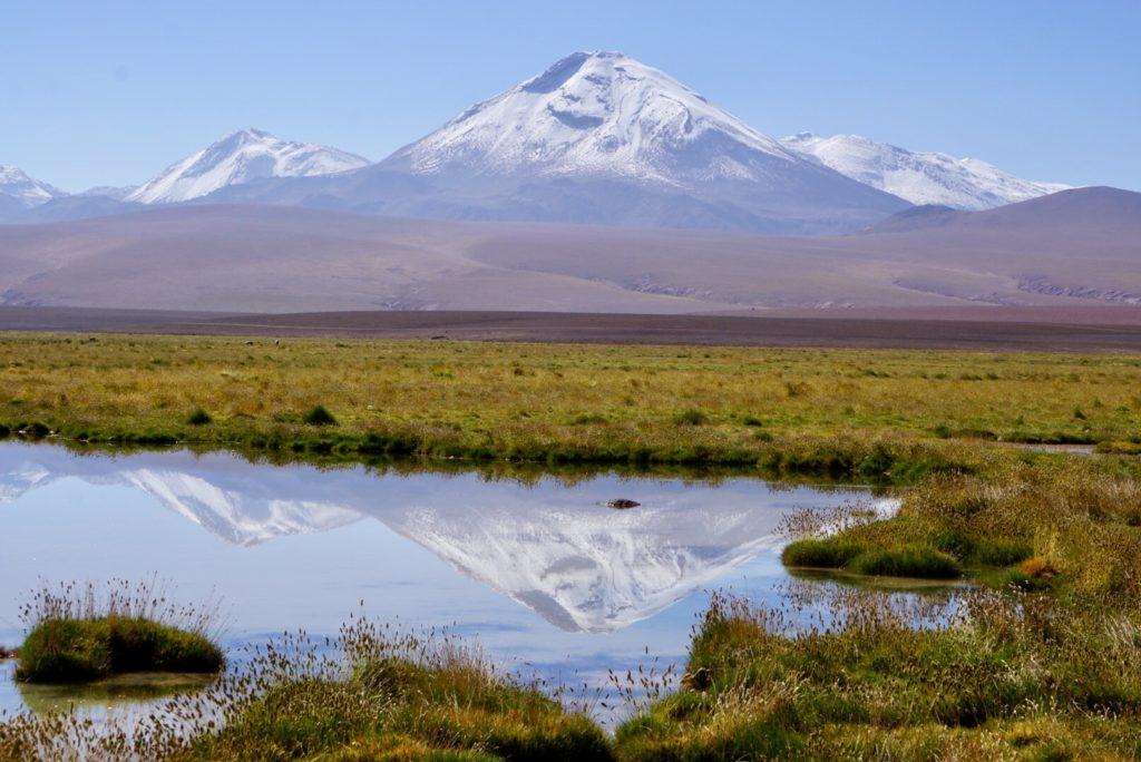 Bergpanorama nördlich von San Pedro de Atacama