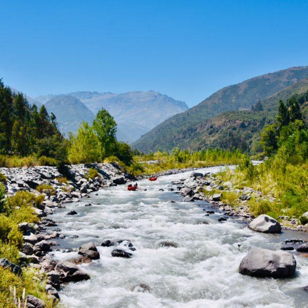 Abenteuer in den Anden - Rafting-Tour auf dem Río Teno