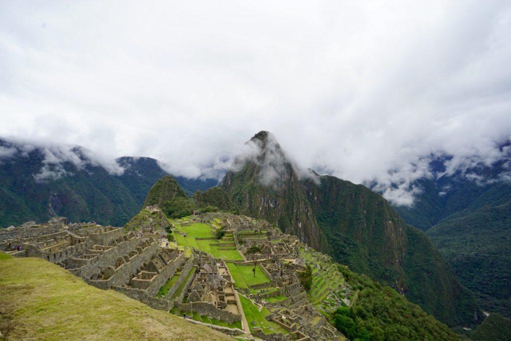 Machu Picchu mit Blick auf Huayna Picchu