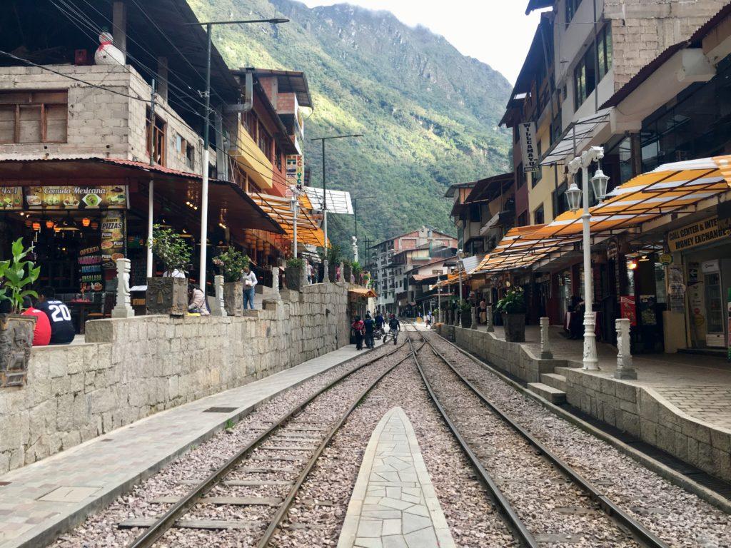 Agua Calientes. Das Tor zum Machu Picchu.