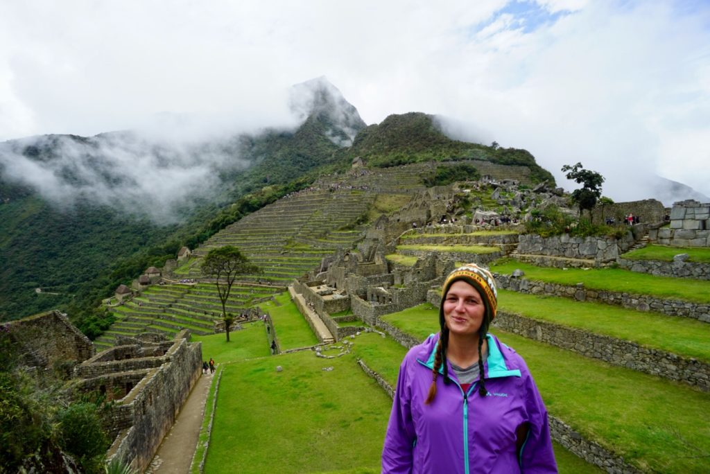 Edith in Machu Picchu