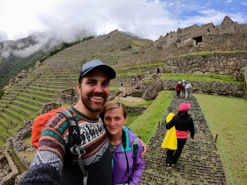 Gerrit & Edith, Machu Picchu, Peru