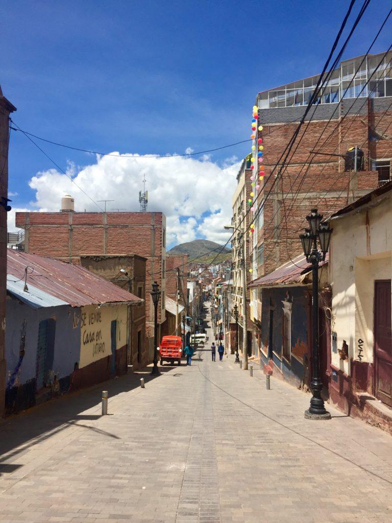 Puno am Titicaca-See