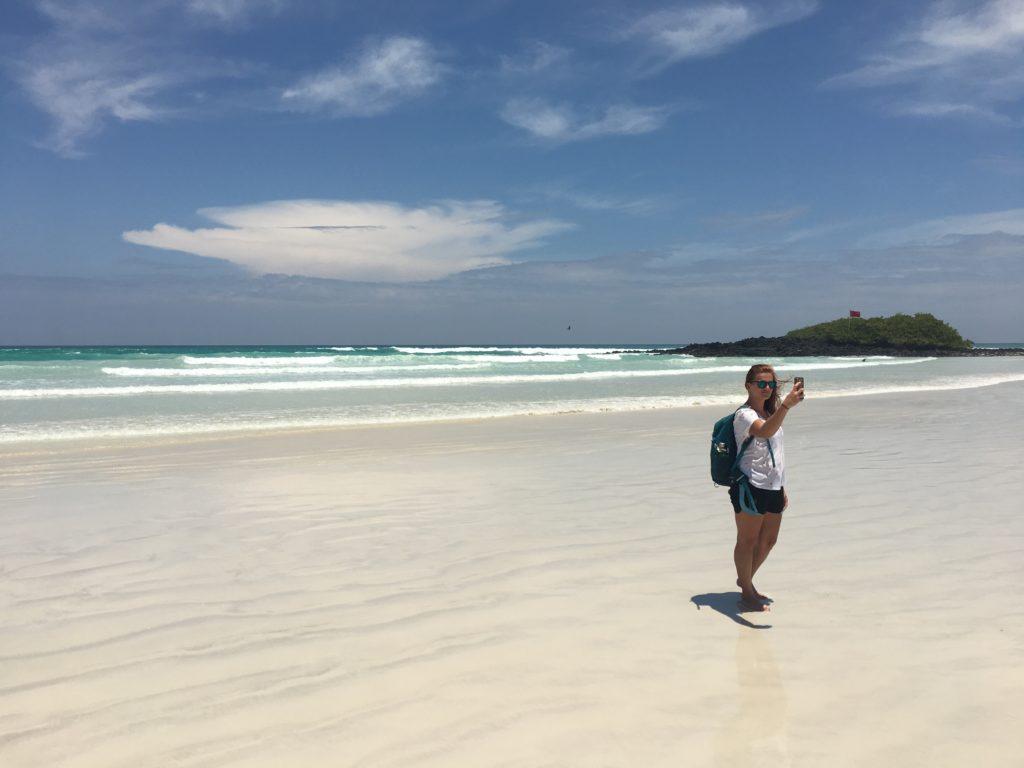 Tortuga Bay auf den Galapagosinseln