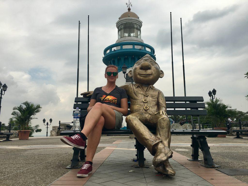 Leuchtturm Guayaquil in Ecuador